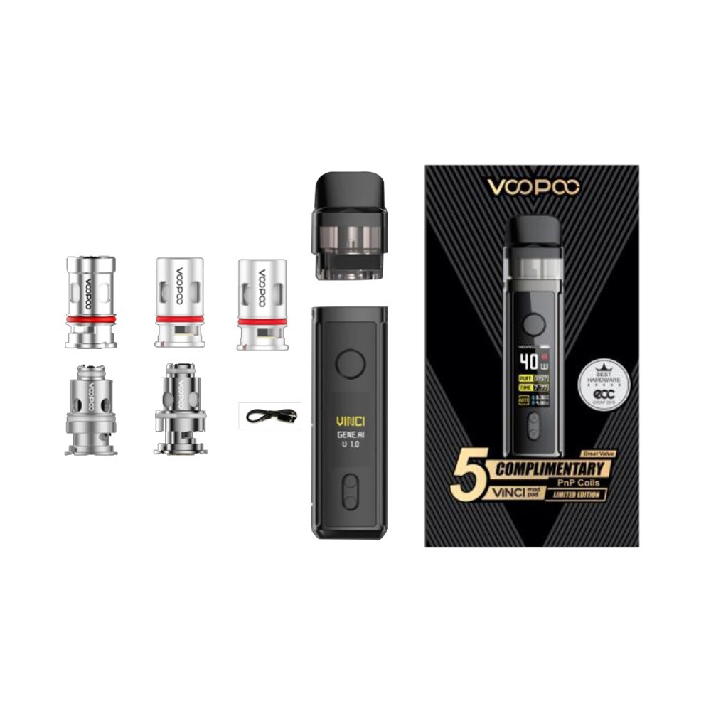 Pop Sytem VOOPOO VINCI Mod Pod Limited Edition Kit (5 Coils Included)