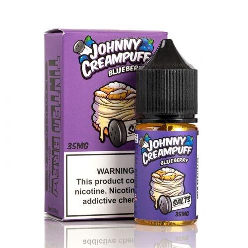 Salt Nic Johnny CreamPuff BlueBerry 30ml Hàng Chính Hãng USA | Vape87.com