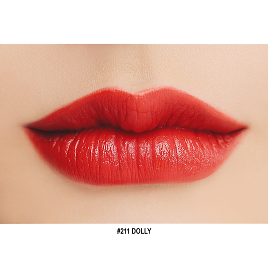 3CE Red Recipe Lip #211 DOLLY