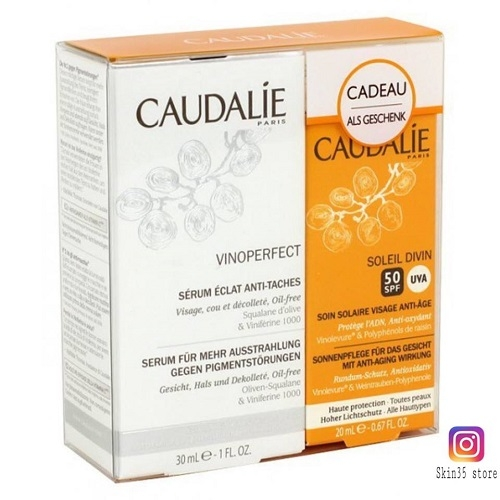 Kem chống nắng Caudalie Soleil Divin Soin Solaire Visage Anti Age SPF50
