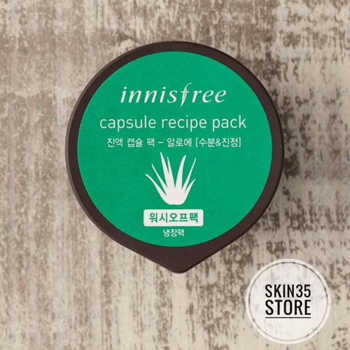 Mặt Nạ Innisfree Capsule Recipe Pack 10ml