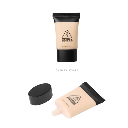 Kem Nền 3CE Back To Baby BB Cream SPF 35