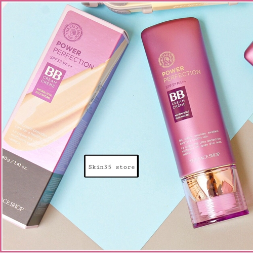 Kem Nền Đa Năng Thefaceshop Power Perfection BB Cream SPF37 PA++