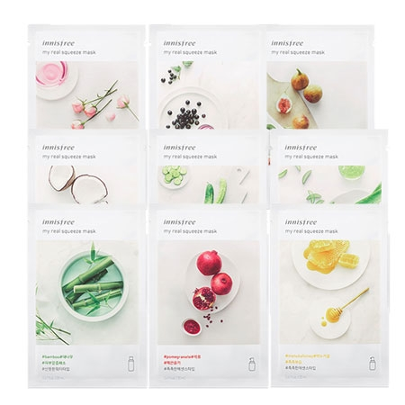 Mặt nạ giấy dưỡng da Innisfree My Real Squeeze Mask