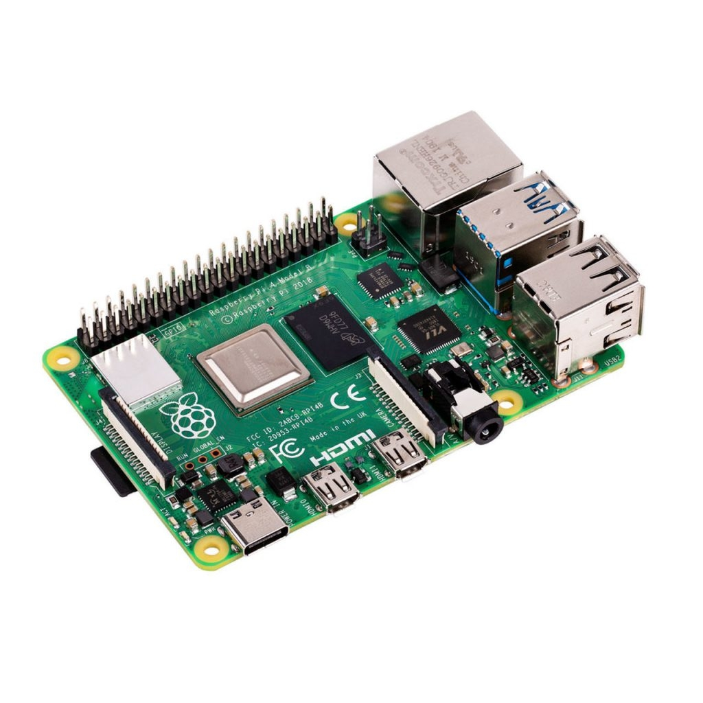 Raspberry Pi 4 Model B 1GB. 2GB, 4GB