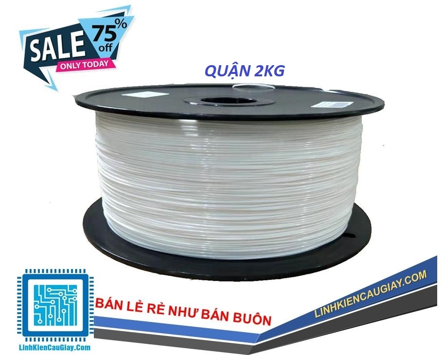 Nhựa In PLA 1,75 mm (Quận to 2Kg)