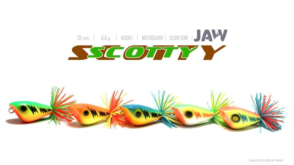 Nhái gỗ nhảy Jaw Scotty (35mm-6g)