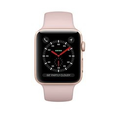 MQKW2 - Apple Watch Series 3 Gold GPS 38Mm - Mới 100%