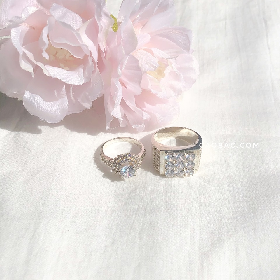 Nhẫn đôi Lion heart Rings Couple (330)