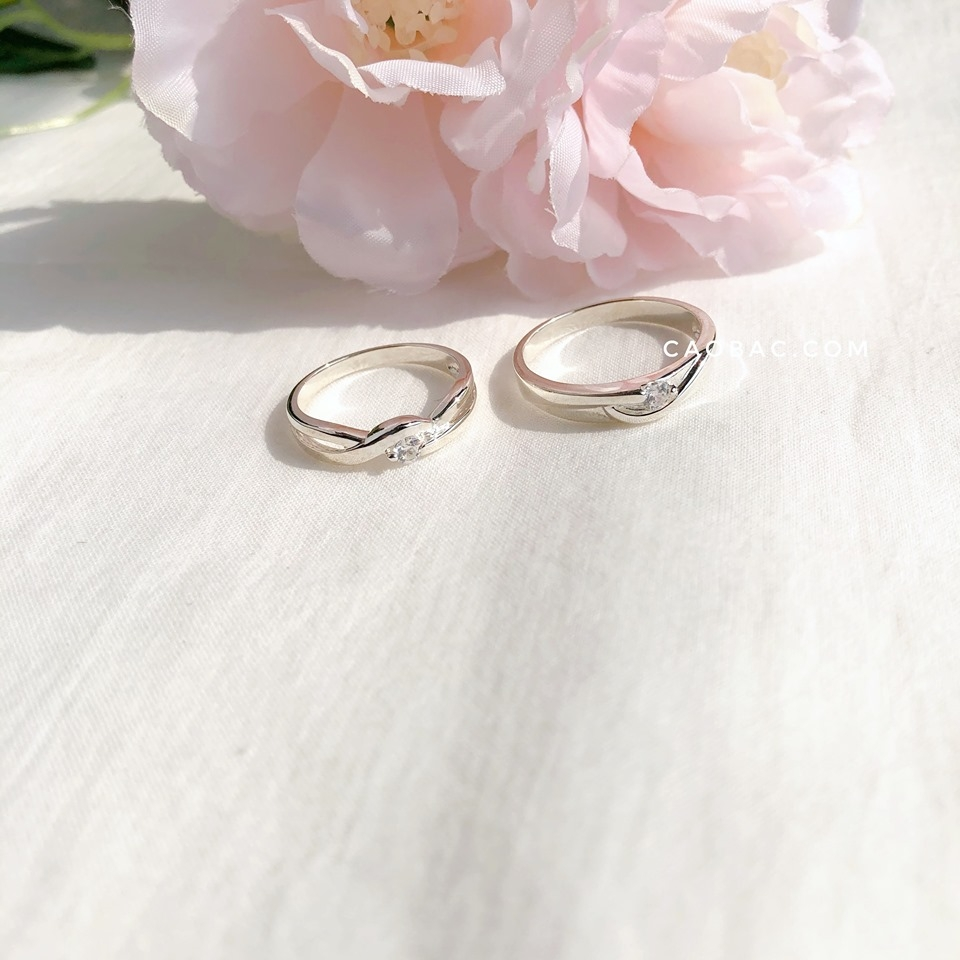 Nhẫn đôi Gennie Rings Couple (232)
