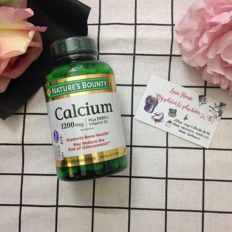 Thuốc Nature bounty Calcium 1200mg