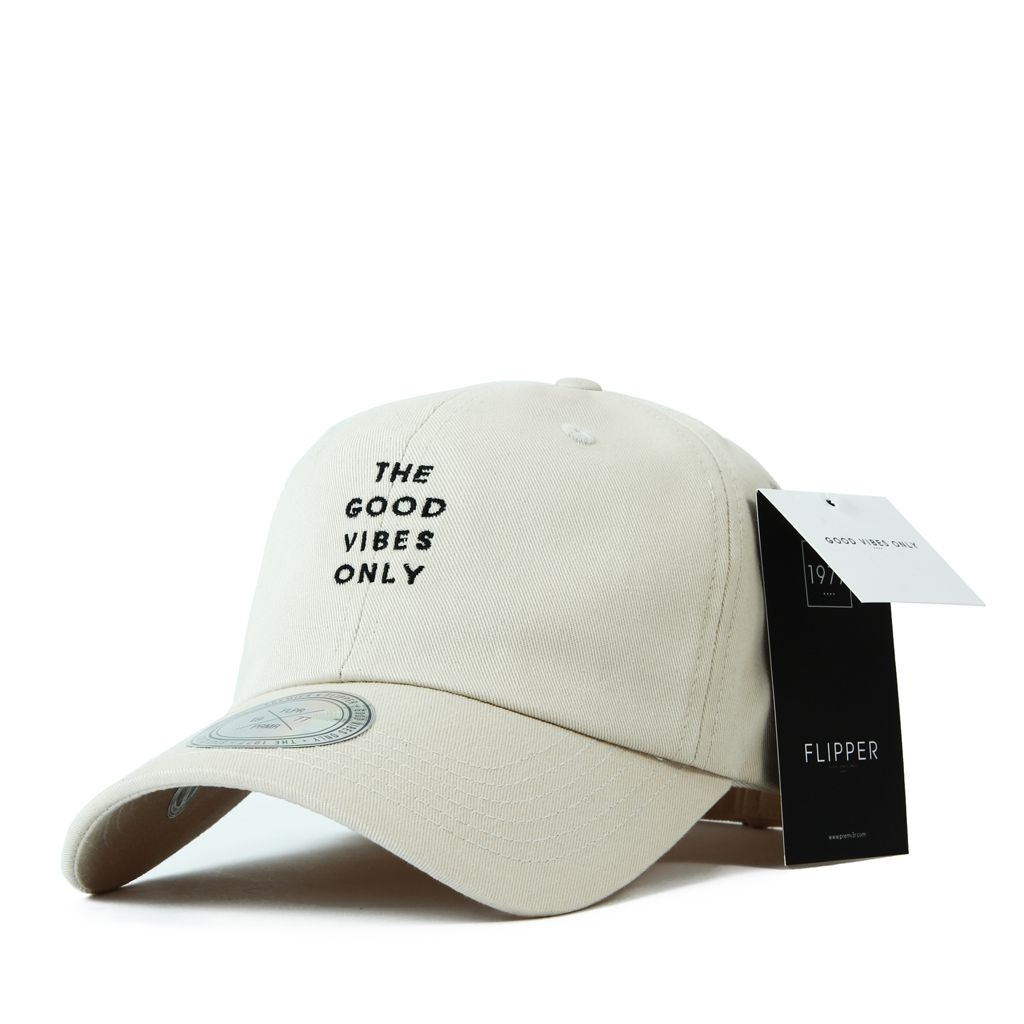 FL203 Long tail ballcap Beige
