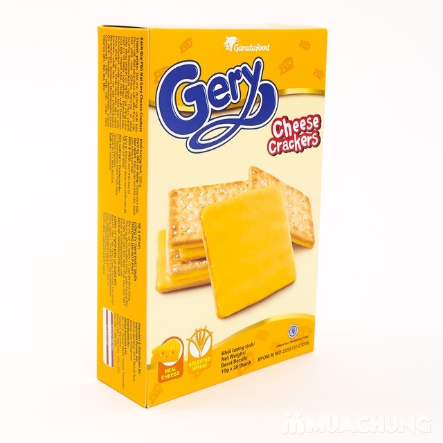 Bánh quy Gery Cheese Crackers 200g