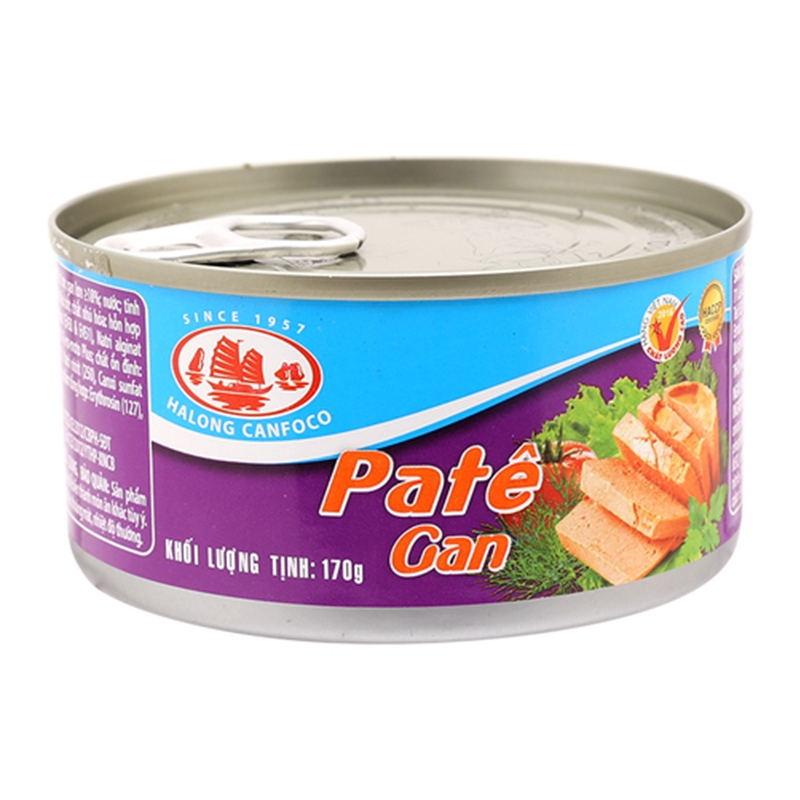 Pate gan Halong Canfoco hộp 170g