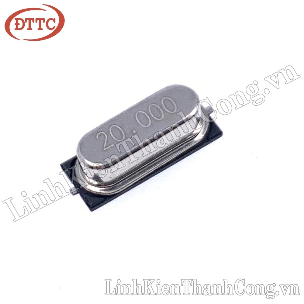 Thạch Anh Dán 20MHz 49S SMD