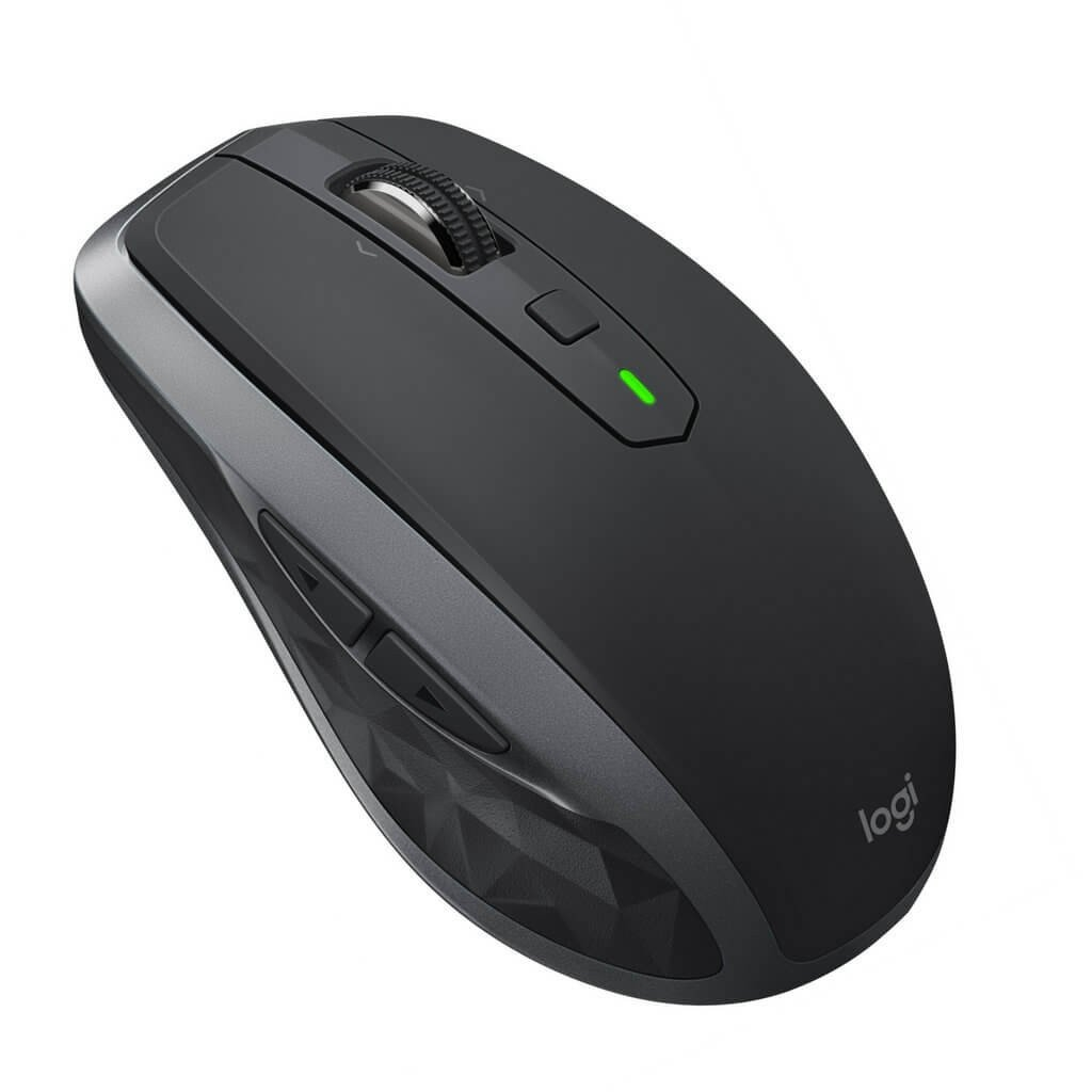 Chuột Logitech MX Anywhere 2S Wireless and Bluetooth - ĐEN