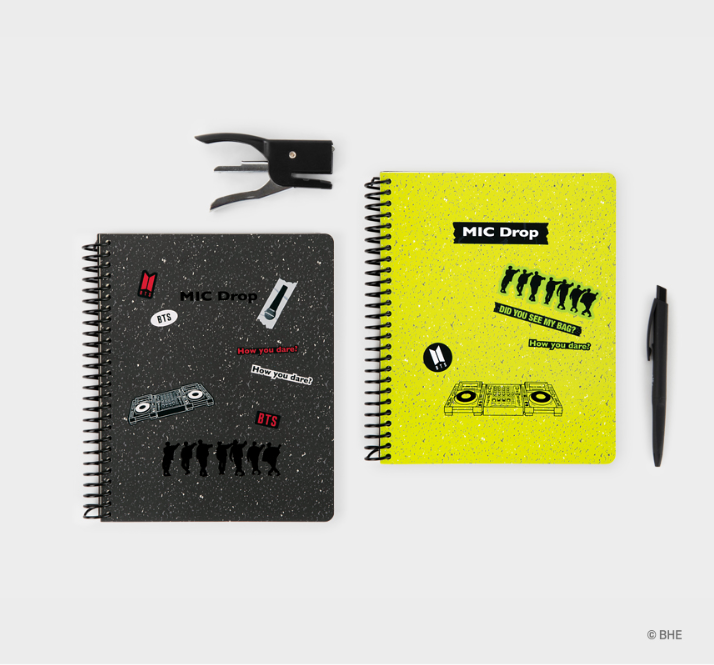 [ORDER] - MIC DROP VERSION - SPRING NOTEBOOK