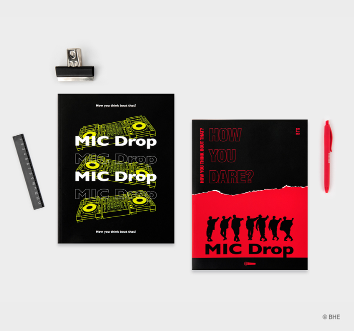 [ORDER] - MIC DROP VERSION - MAGAZINE NOTE