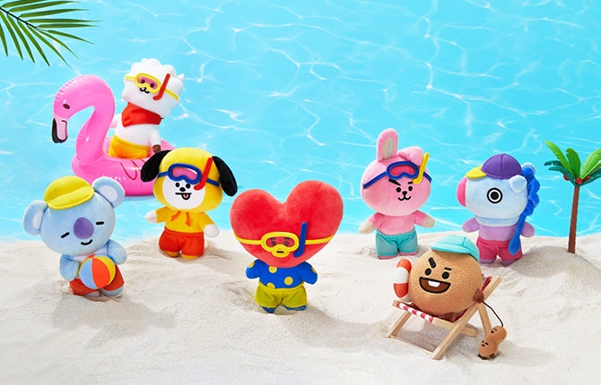 [ORDER] SUMMER PLUSH DOLL 2019 BT21