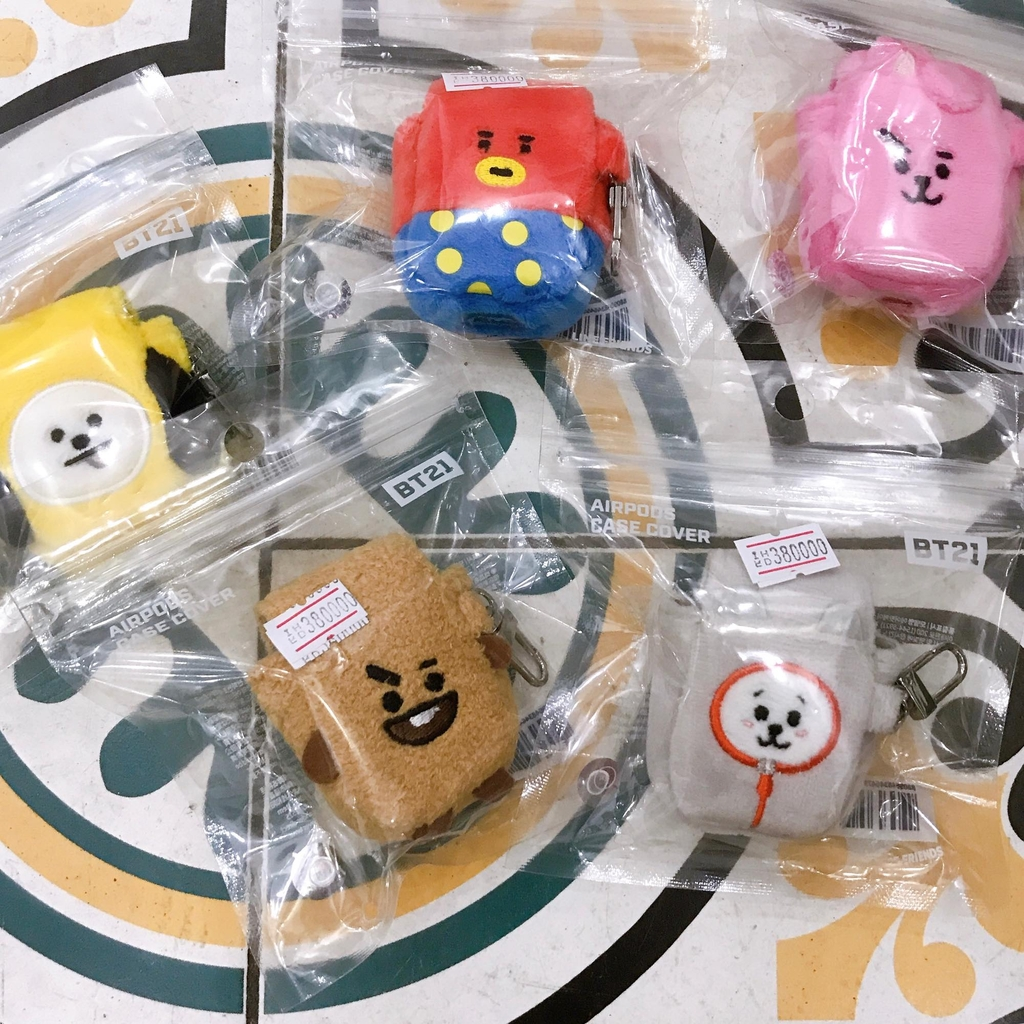 [CÓ SẴN] CASE AIRPOD BT21 LINE FRIENDS