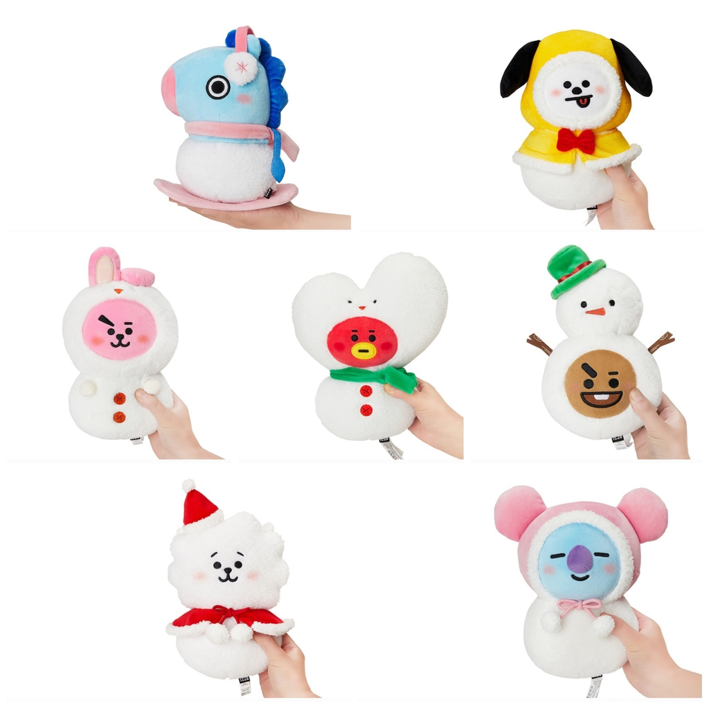 [PRE - ODER] BT21 Chrismas plushies doll