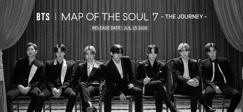 [PRE-ORDER] - MAP OF THE SOUL : 7 ~ THE JOURNEY ~