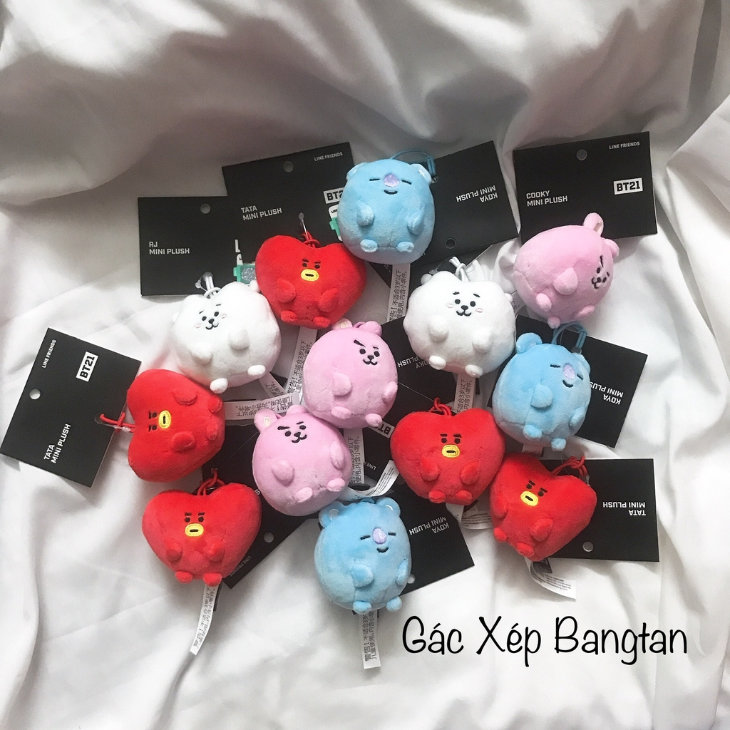 [CÓ SẴN] BT21 MINI PLUSH