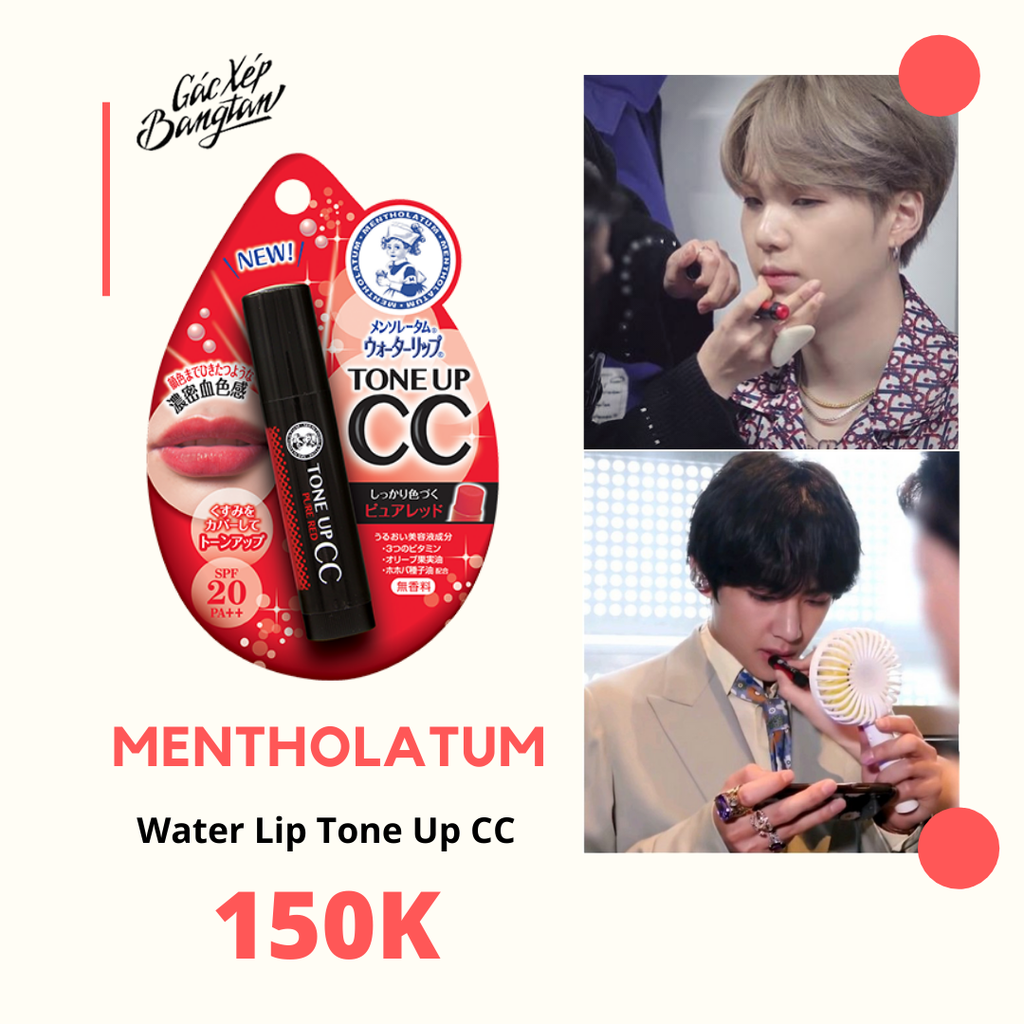 [ORDER] - SON DƯỠNG WATER LIP TONE UP CC CHEAP MOMENT WITH SUGA & V