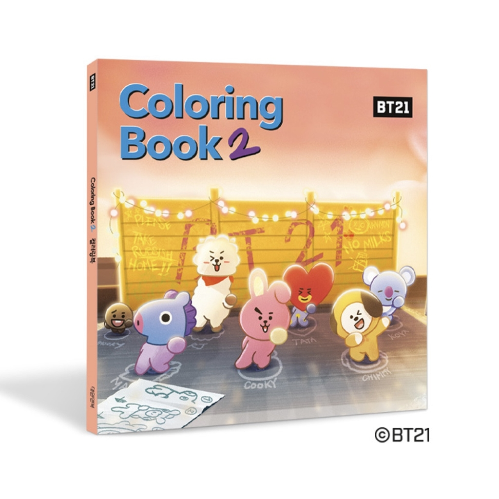[ORDER] COLORING BOOK VOL.2