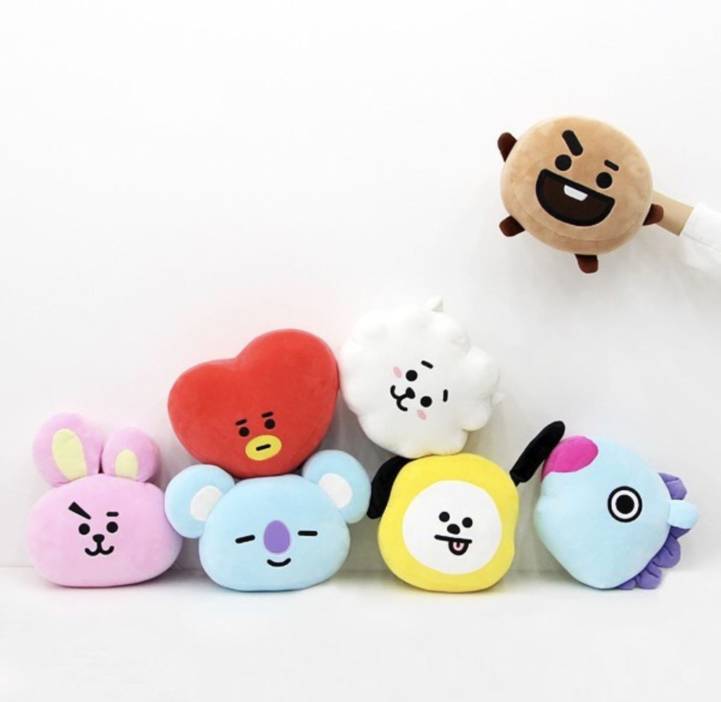[ ORDER] [ FLASH SALE] - BT21 MOCHI FACE CUSHION