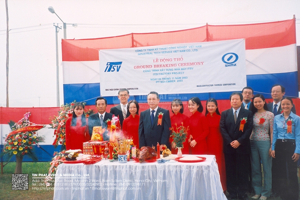 Ground Breaking Ceremony Itsv Factory Projec
