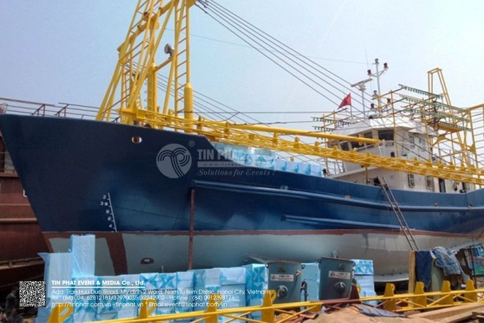 Inauguration of the shipbuilding project