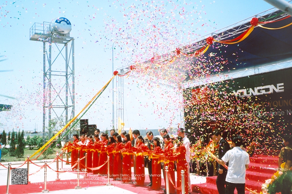 The Opening Ceremony Of Young Namdinh Factory
