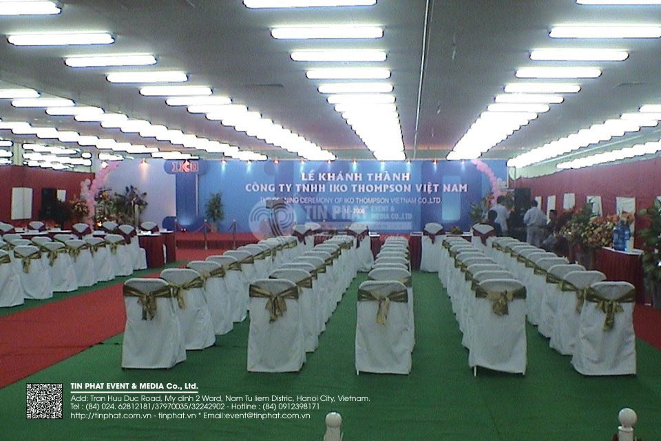 The Opening Ceremony Of Iko Thomson Vietnam Co.,Ltd