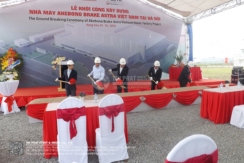 The Ground Breaking Ceremony Of Akebono Brake Astra Vietnam Ha Noi Factory Project