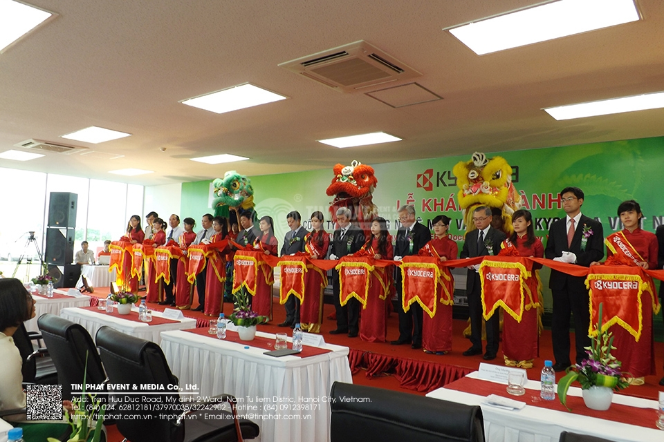 The Opening Ceremony Of Kyocera Document Technology Vietnam Co.,Ltd