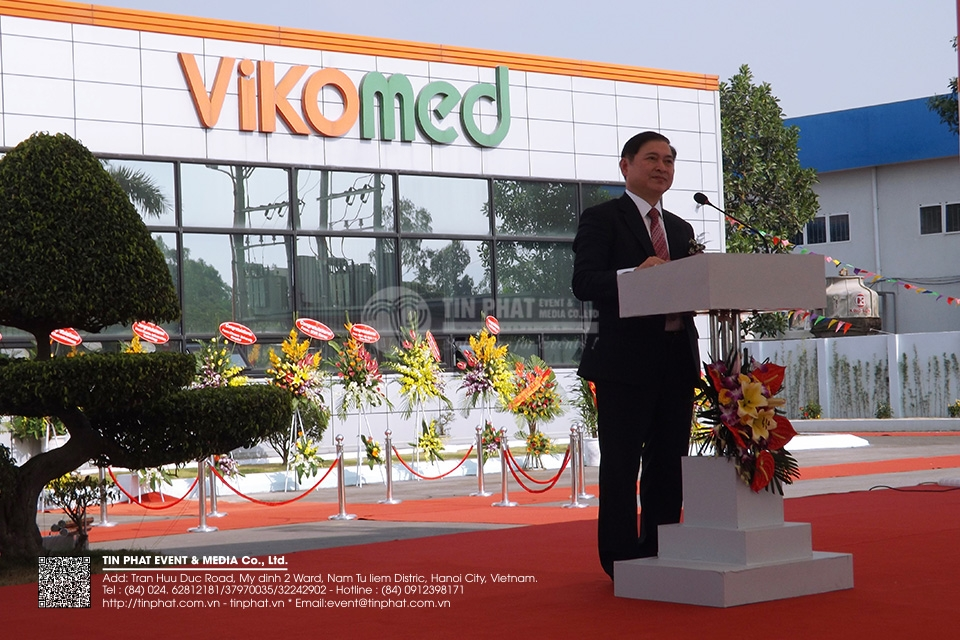 The Opening Ceremony Of Vikomed