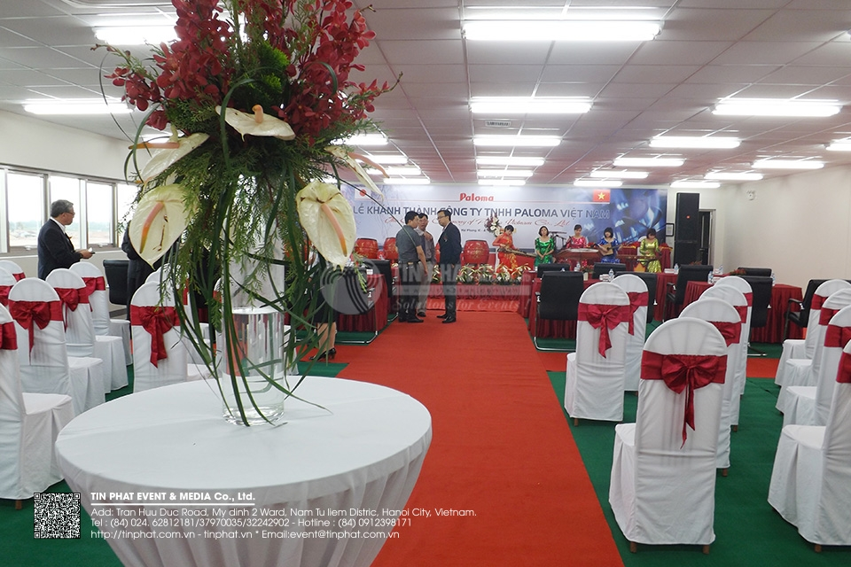 The Opening Ceremony Of Paloma Vietnam Co.,Ltd.