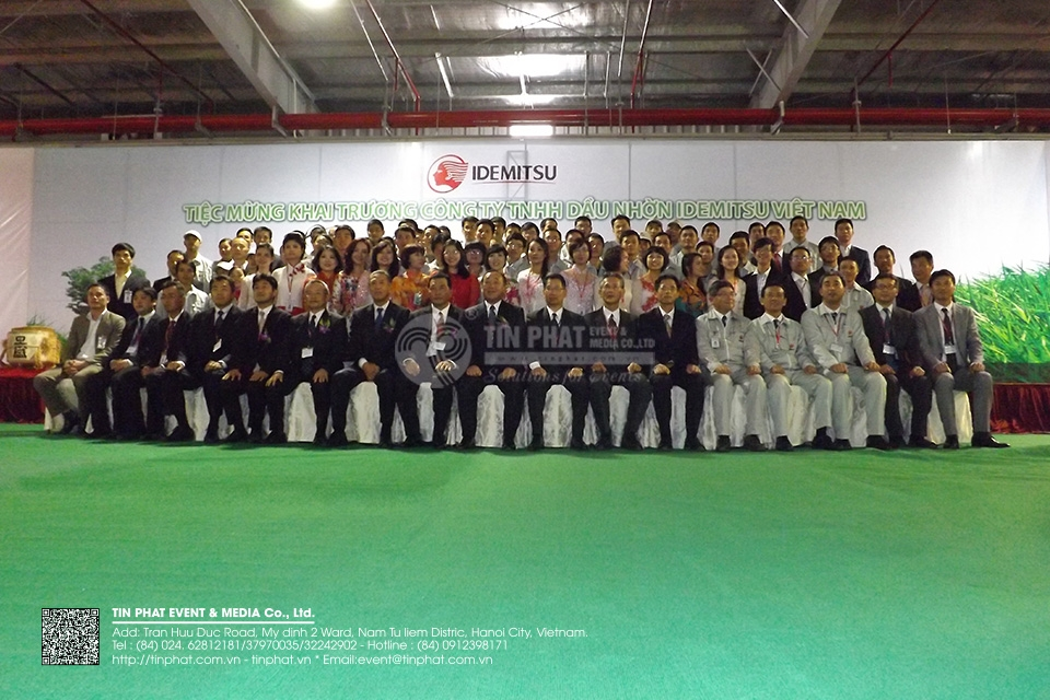 The Grand Opening Ceremony Of Idemitsu Lube Vietnam Co.,Ltd