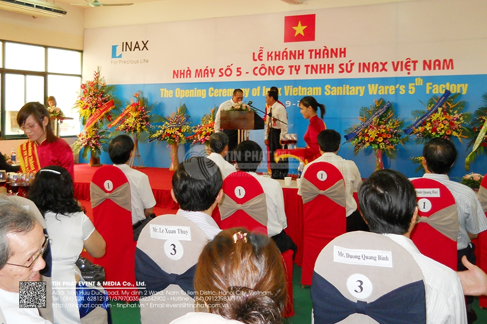 The Opening Ceremony Of Inax Viet Nam Sanitary Ware 5th Factory