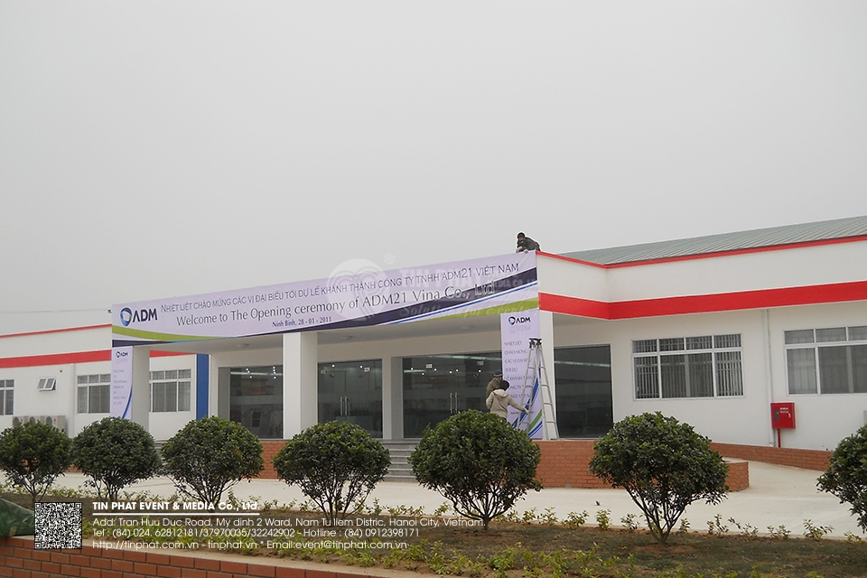 The Opening Ceremoy Of Adm21 Vina Co.,Ltd