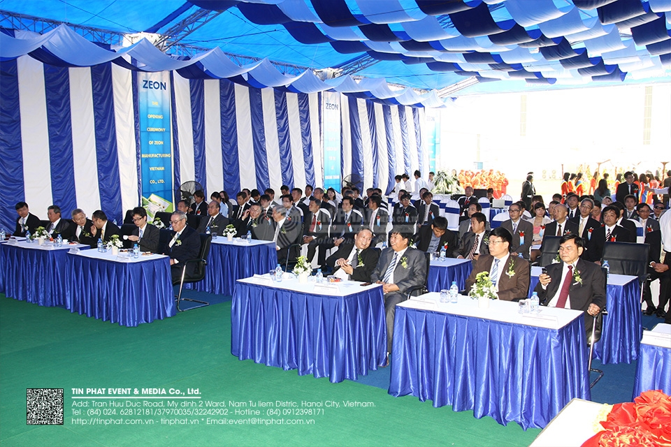 The Opening Ceremony Of Zeon Vietnam Co.,Ltd.