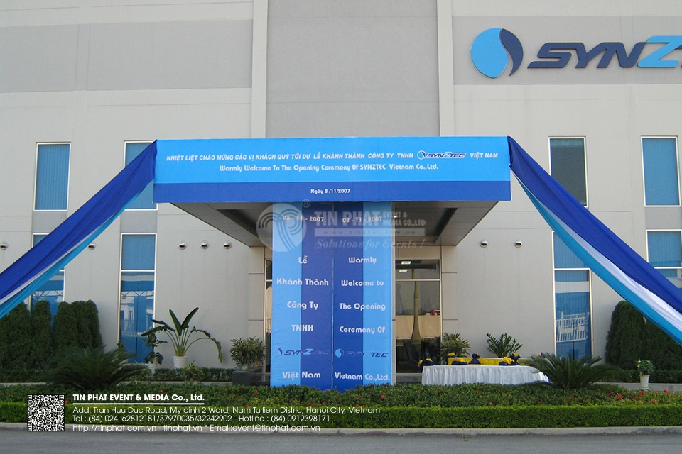 The Opening Ceremony of Synztech Vietnam Co.,Ltd