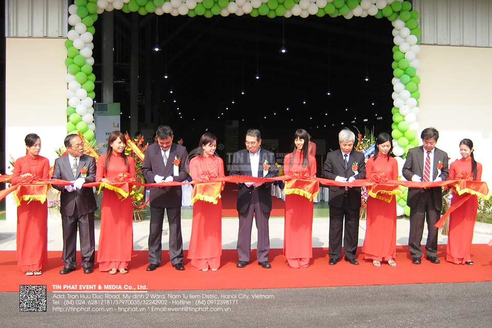 The Opening Ceremony of Vina Okamoto Co.,Ltd