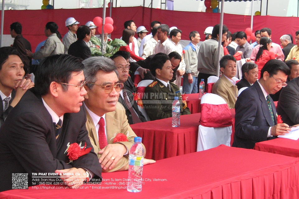 The Ground Breaking Ceremony Of Second Line Of Phuc Son Cement  Plant