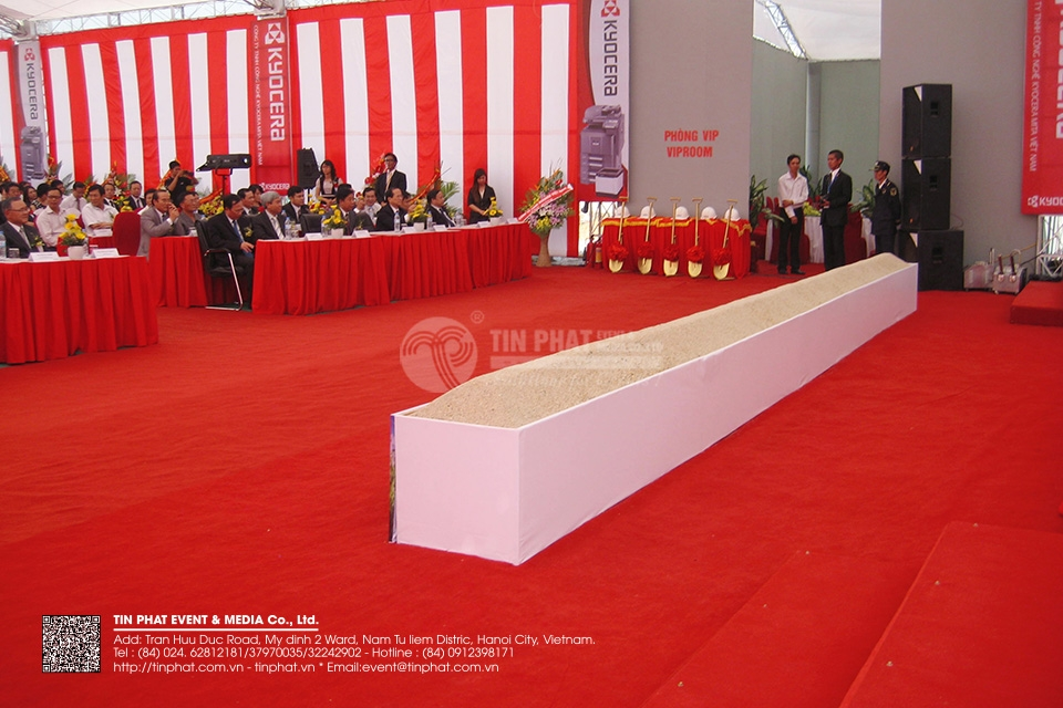 Ground Breaking Ceremony Of Kyocera Mita Vietnam Technology Co.,Ltd
