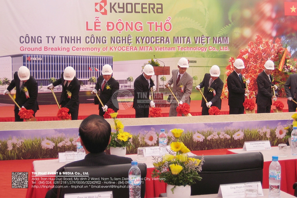 Event commemorates the foundation day and the start of the expansion project