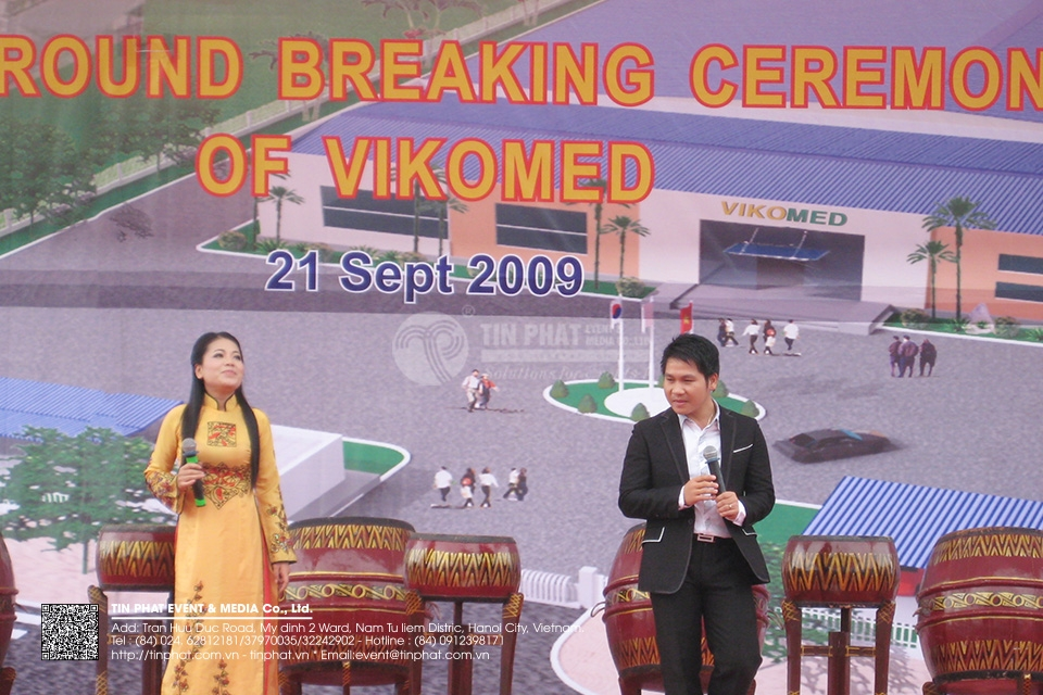 The Ground Breaking Ceremony Of Vikomed