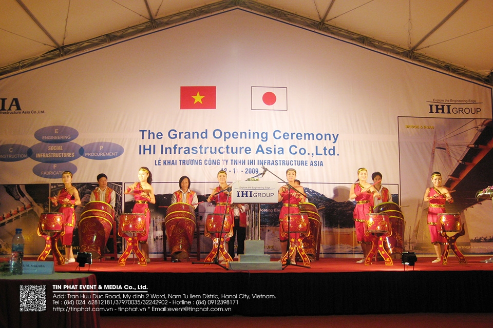 The Grand Opening Ceremony Ihi Infarestructute Asia Co.,Ltd.