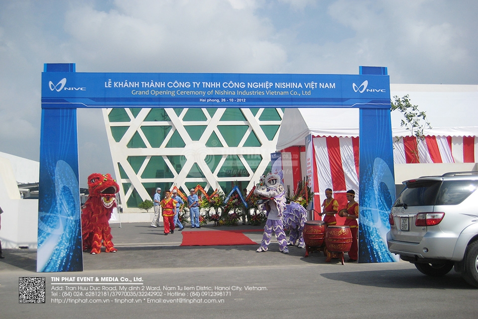 Grand Opening Ceremony Of Nishina Industries Vietnam Co.,Ltd